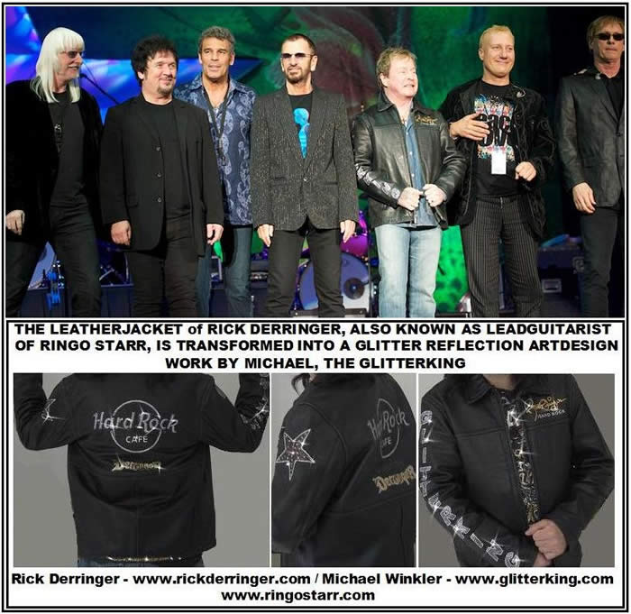 jacket vest berlin arts bling glitter fashion fashionweek rockfashion clothing  clothes shirt crash coat leather art picture painting rockstar rockmusic shop store ringo starr beatles derringer bissonette