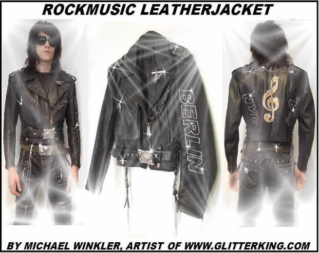 jacket vest berlin arts bling glitter fashion fashionweek rockfashion clothing  clothes shirt crash coat leather art picture painting rockstar rockmusic shop store rockstar