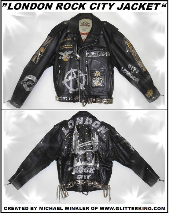 jacket vest berlin arts bling glitter fashion fashionweek rockfashion clothing  clothes shirt crash coat leather art picture painting rockstar rockmusic shop store rockcity rock rosckstar